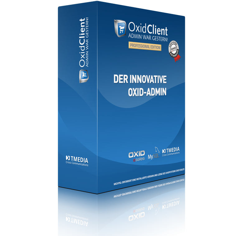 OXID-Client der professionelle OXID-Admin