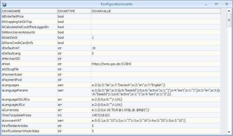 konfigurations-info