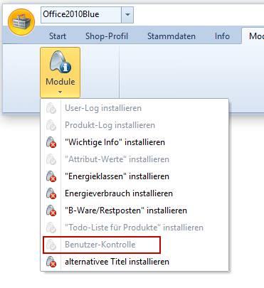 OXID-Client: Mehrfachbenutzer-Kontrolle intallieren